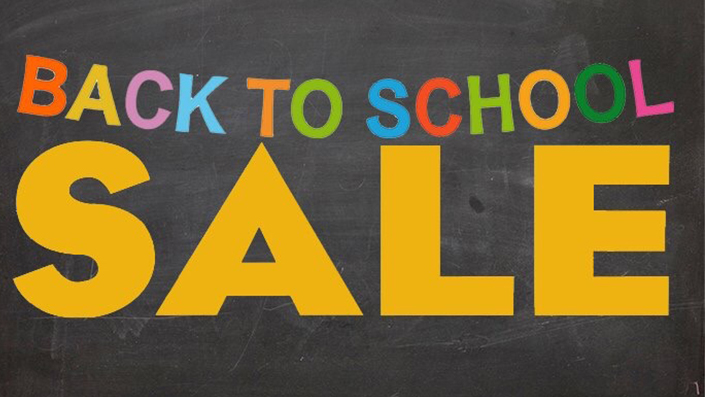 a8673758f2 Back to School Sale!